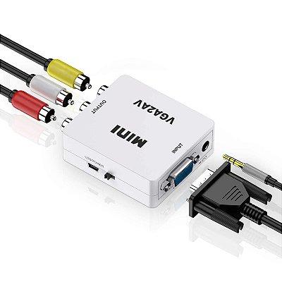 Conversor VGA Para AV 1080P