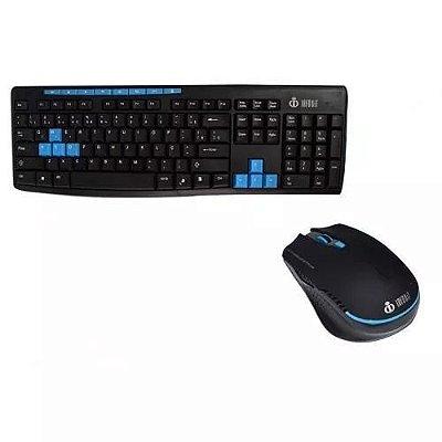 Teclado e Mouse sem Fio Infokit SF X30