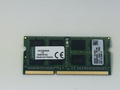 Memória Kingston 8GB DDR3 1333MHZ Notebook