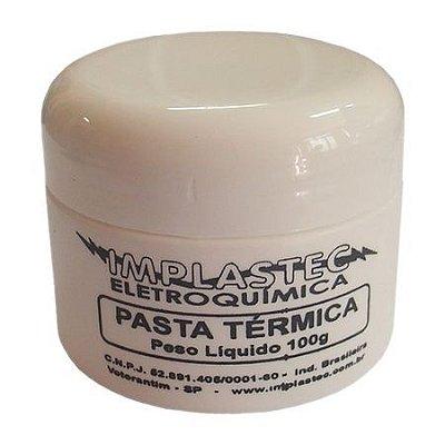 Pasta Térmica Implastec 100G