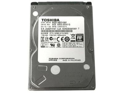 HD Notebook 2.5 1TB SATA 3 Toshiba