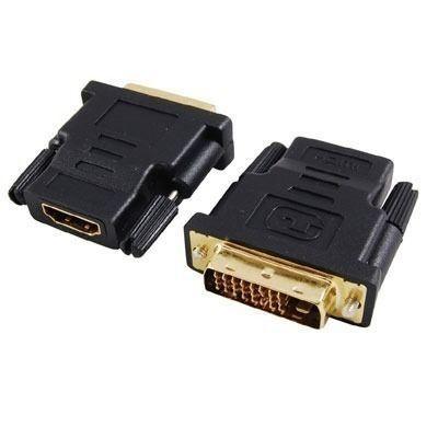 Adaptador HDMI Fêmea para DVI Macho