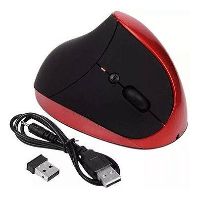 Mouse Óptico Vertical Ergonômico X ZHANG