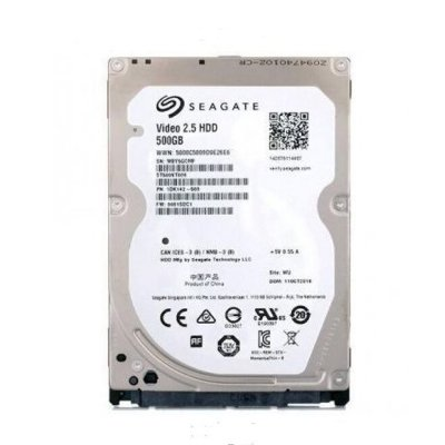 HD Notebook 2.5 500GB SATA 3 Seagate Vídeo