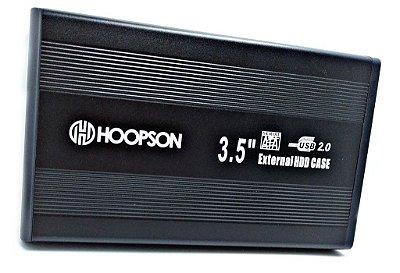 Case para HD 3,5″ Hoopson CHD-003 Preta