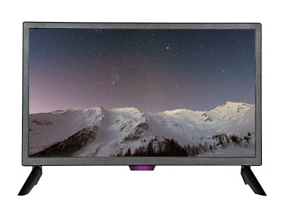 Monitor TV LED 22 BRAZILPC H220-T HOE Preto