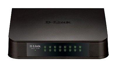 Switch D-Link DES-1016A 16 Portas 10/100Mbps
