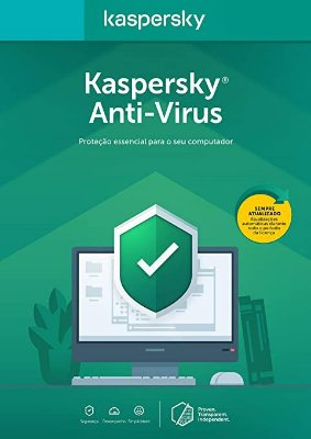 Kaspersky Antivírus 1 PC - 1 ano (Digital)