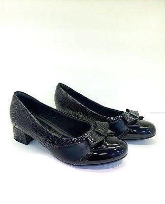 Sapato Piccadilly Salto Quadrado para Joanete 141087