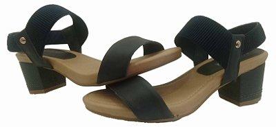 Sandália de salto Donna Comfy 601