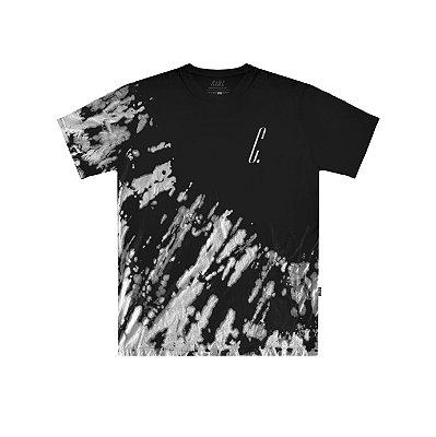 Camiseta Plano C Tie Dye Preta