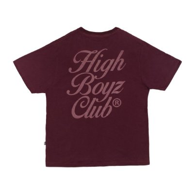 Camiseta High Club Vinho