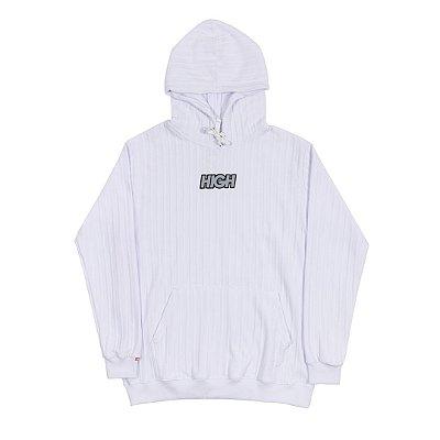 Moletom High Logo Branco
