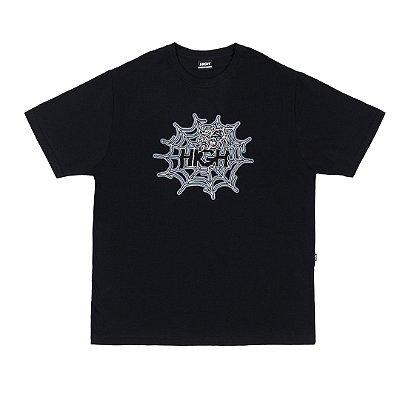 Camiseta High Spider Preta