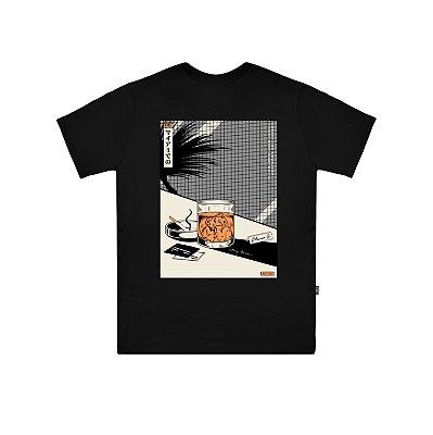 Camiseta Plano C Drink Time Preta
