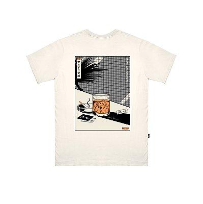 Camiseta Plano C Drink Time Branca