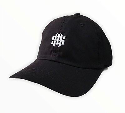 Bone Mess Logo Dad Hat Strapback Logo Preto