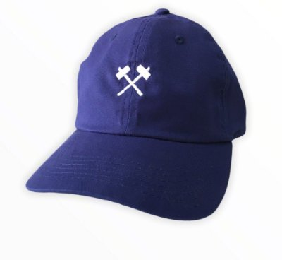 Bone Mess Marreta Dad Hat Strapback Azul