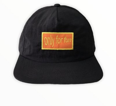 Bone Mess Only Snapback Preto