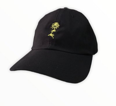 Bone Mess Rose Dad Hat Strapback Preto