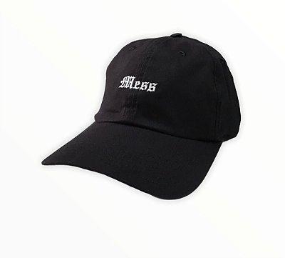 Bone Mess X NY Dad Hat Preto