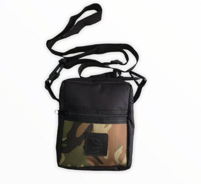 Shoulder Bag Cisco Camo Black