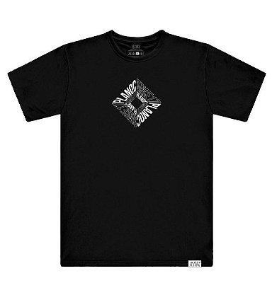 Camiseta Plano C 3d Preta