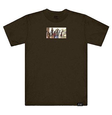 Camiseta Plano C Sec. XIX Marrom