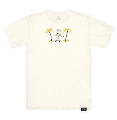 Camiseta Plano C Wild Skater Branca