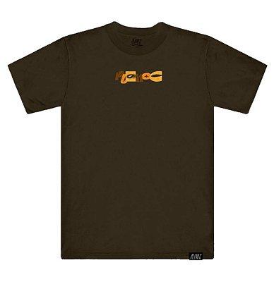 Camiseta Plano C Giz De Cera Marrom