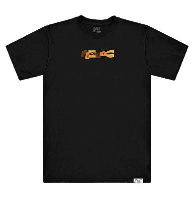 Camiseta Plano C Giz De Cera Preta