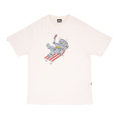 Camiseta High Robot Branca