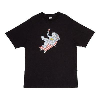 Camiseta High Robot Preta