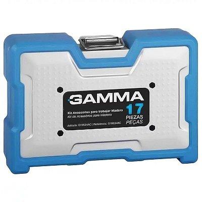 Kit de Acessórios para Madeira com 17 Peças - GAMMA-G19534AC