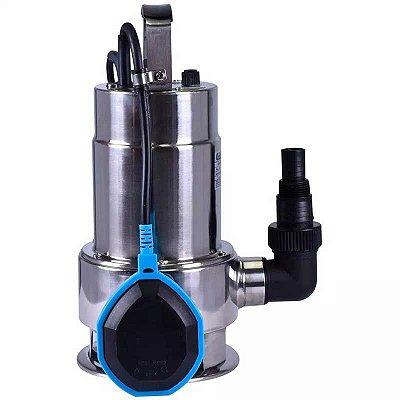 Bomba Sapo/Submersível para Águas Sujas em Inox 550W - GAMMA-XKS-550SW