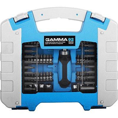 Kit de Bits e Soquetes com 92 Peças - GAMMA-G19527AC