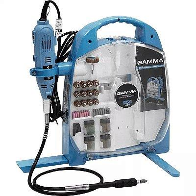 Microrretífica 130W com Jogo de Acessórios 252 Peças - GAMMA-G19502