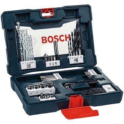Kit de Brocas, Pontas e Bits V-Line com 41 Peças - BOSCH-2607017396