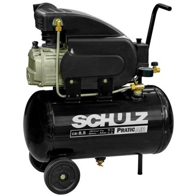 Motocompressor Pratic Air 8,5 Pés 2 HP 25L Monofásico - SCHULZ-CSI-8525-AIR