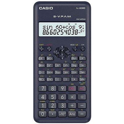 Calculadora Cientifica 240 Funções Casio Fx-82ms-2