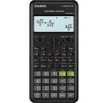 Calculadora Cientifica 252 Funções Casio Fx-82es Plus