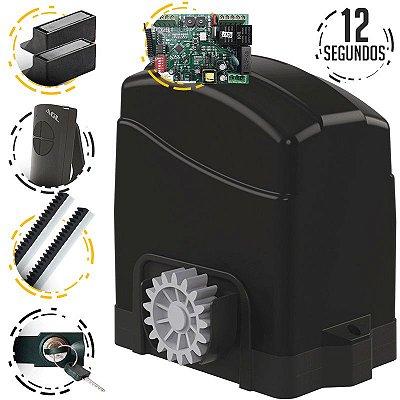 Kit Motor Portão Deslizante Eletrônico 3 Mts Agl Trino 300