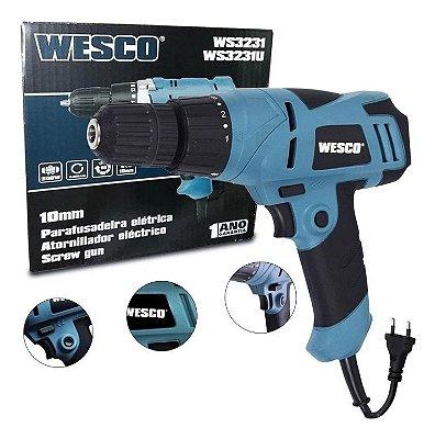 Furadeira Parafusadeira Wesco 300w Ws3231