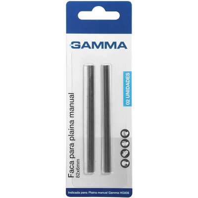 Faca Para Plaina Manual 82X6MM HG00 Gamma ACHG006/BR-028