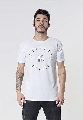 Camiseta Aero Jeans Br 1985 Branca