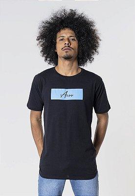 Camiseta Aero Jeans Colors Preta