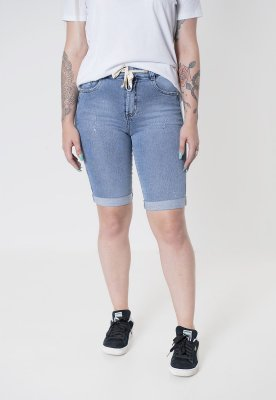 Bermuda jeans ciclista