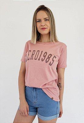 T-Shirt Aero 1985 Rosa