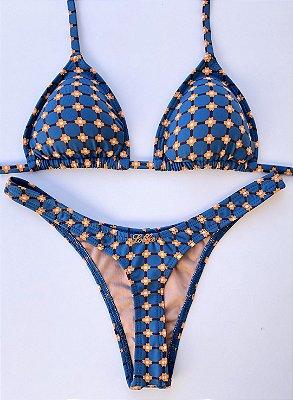 Marquinha Asa Delta Menor Margarida Azul