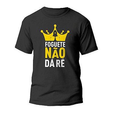 Camiseta KING - Foguete não da dá ré